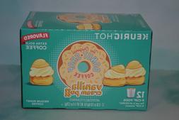 The Original Donut Shop Vanilla Cream Puff Coffee Keurig K C