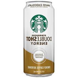 Starbucks Doubleshot Energy Coffee, White Chocolate, 15 Ounc