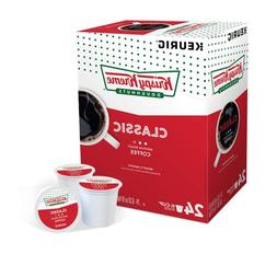 Krispy Kreme Doughnuts Classic Smooth Coffee 24 to 144 Kcups