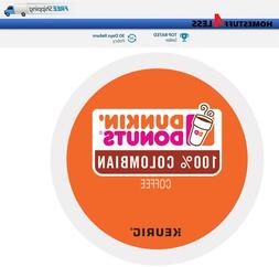 DUNKIN DONUTS 100% Colombian Keurig K-cups Coffee PICK THE S