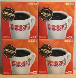 Dunkin Donuts 128 Count K cups Original Blend Medium Roast C