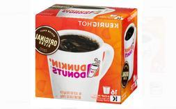 Dunkin' Donuts Coffee Keurig K-Cups Medium Roast Original Bl