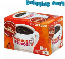 Dunkin Donuts Colombian Medium Roast Coffee Keurig k-cups