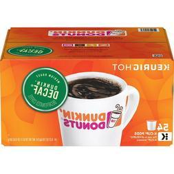 Dunkin Donuts Decaf Blend Keurig Coffee K-Cups 54 Count - HI