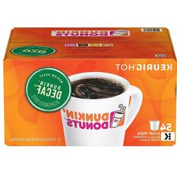 Dunkin' Donuts Decaf Coffee K-Cups, Medium Roast
