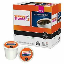 DUNKIN DONUTS FRENCH VANILLA COFFEE K-CUPS 16CT