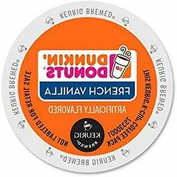 """Dunkin' Donuts French Vanilla Coffee K-Cups 96 Ct Grocery """""""