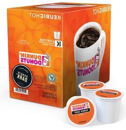 Dunkin Donuts Keurig K-Cups, Dunkin' Dark, 96 Count, Exp 3/1