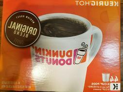 Dunkin' Donuts Keurig K-Cups Medium Roast Original Blend Cof