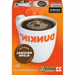 Dunkin' Donuts Original Blend Coffee 24 to 144 Count Keurig