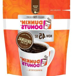Dunkin' Donuts Original Blend Ground Coffee, Medium Roast