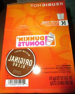 Dunkin Donuts Original Blend K-Cups 24 Count