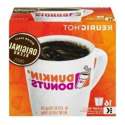 Dunkin Donuts Originial Blend Coffee K-Cup Pods - 16 Pieces
