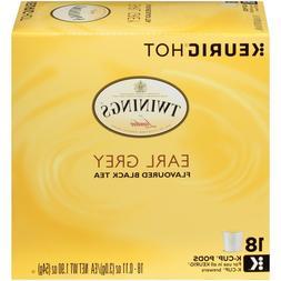 Twinings of London Earl Grey Tea 18 to 144 Count Keurig K cu
