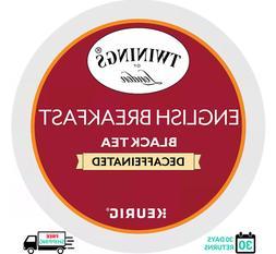 Twinings English Breakfast DECAF Keurig Tea K-cups YOU PICK