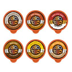 Crazy Cups Flavor Lovers' Flavored Coffee Single Cups For K