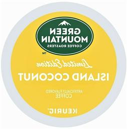 Green Mountain ISLAND COCONUT K CUPS Keurig Coffee 12 to 96