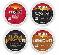 Folgers Coffee Roast Variety Pack, 48 K Cups for Keurig Coff