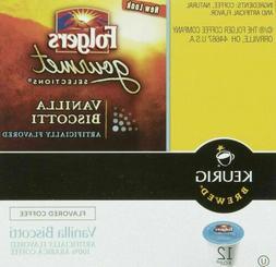 Folgers Gourmet Selections Vanilla Biscotti Keurig K-Cups