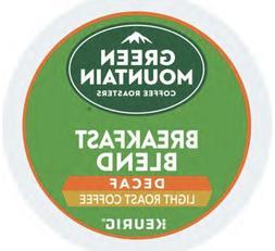 Green Mountain DECAF Breakfast Blend Coffee 24 K Cups