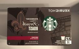 Starbucks French Dark Roast K-Cups • BBD 1/19 • 72 Count