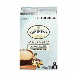 Twinings of London French Vanilla Chai Latte K-Cup for Keuri