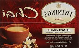 Twinings French Vanilla Chai Tea, 20 ea