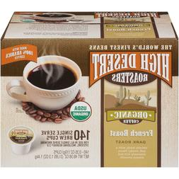 High Desert Roasters French Roast Coffee 140 to 280 Keurig K