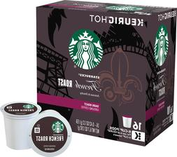 Starbucks French Roast Coffee 16 to 96 Count Keurig K cups P