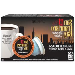 San Francisco Bay OneCup French Roast Coffee 80 to 320 Keuri