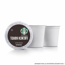 Starbucks, French Roast Coffee, Dark Roast, Keurig K-Cups, 9