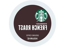 Starbucks, French Roast Coffee, Dark Roast, Keurig K-Cups, 9