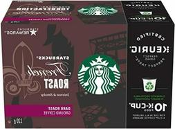 Starbucks French Roast Coffee K cups, 6 X 10 total  60 Count