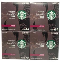STARBUCKS French Roast Coffee K-Cups 72 ct Dark Roast READ D