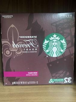 Starbucks French Roast Dark Roast Coffee K-Cups, 64 Count Lo