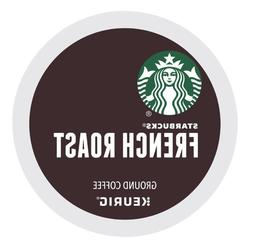 Starbucks French Roast Dark Roast K-cups 24 Count