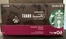 Starbucks French Roast K Cups • BBD 2/2020 • 60 Count