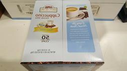Grove Square Cappuccino French Vanilla 50 Single Serve Cups