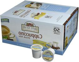 50 Single Serve French Vanilla Cappuccino K Cups Coffee Drin