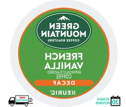 Green Mountain French Vanilla DECAF Keurig Coffee K-cups YOU