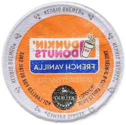 Dunkin Donuts French Vanilla Flavored Coffee K-Cups For Keur
