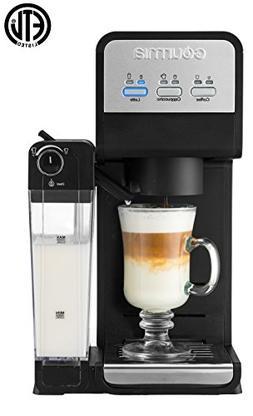 Gourmia GCM4000 3 In 1 Single Serve -1 Touch -K-Cup Compatib