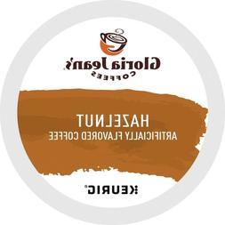 Gloria Jean's Hazelnut Coffee 24 to 144 Keurig Kcups Pick An