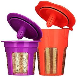 MG Coffee 24K Gold Reusable K Cup and K Carafe Coffee Filter