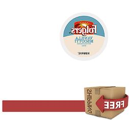 Folgers Gourmet Selections Vanilla Biscotti Coffee K-Cups, 1