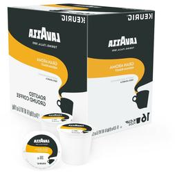 Lavazza Gran Aroma Coffee 16 to 96 Keurig K cups Pick Any Qu
