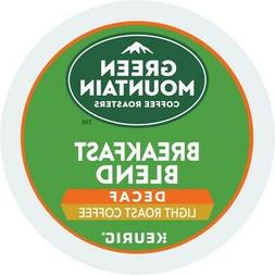 Green Mountain Coffee Breakfast Blend Decaf, Keurig K-Cup Po