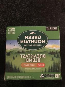 Keurig Green Mountain Coffee® Breakfast Blend Decaf Coff