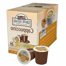 Grove Square Caramel Cappuccino 24 Single Serve Cup Keurig K