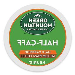 Green Mountain Half Caff Coffee 24 to 144 Keurig K cup Pods